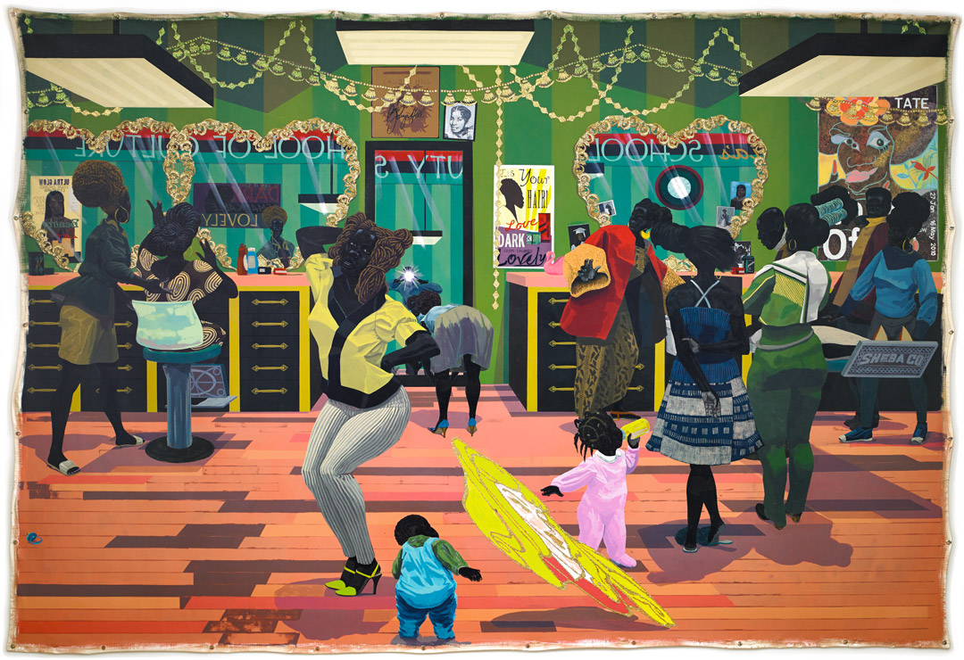 School of Beauty, School of Culture by Kerry James Marshall